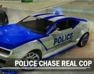 Police Chase Real Cop